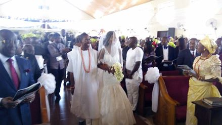 Okowa daughter weds 3