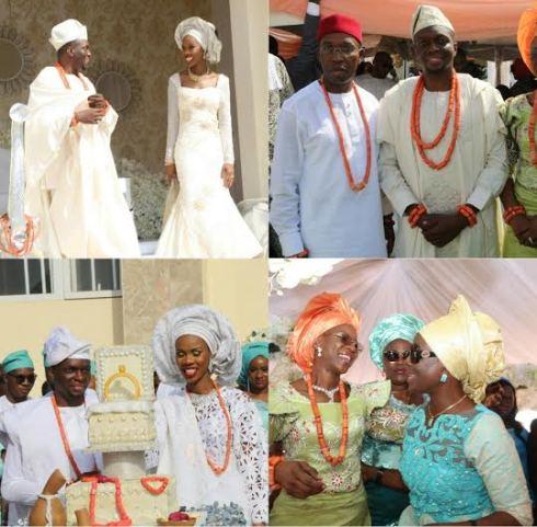 Okowa daughter weds 7