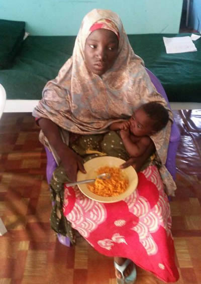 Chibok girl rescued
