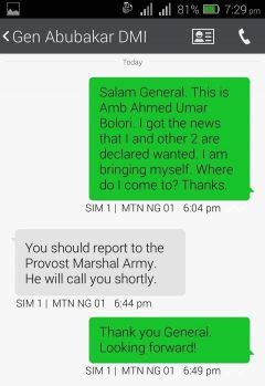 Army Message