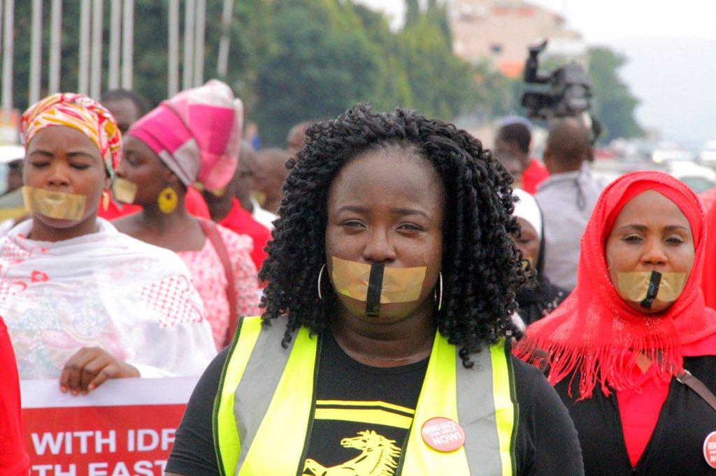 BBOG Silent Protest 4