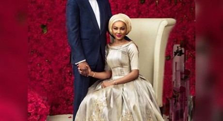 First Photos of Zahra Buhari And Soon To Be Husband, Billionaire's Son Indimi