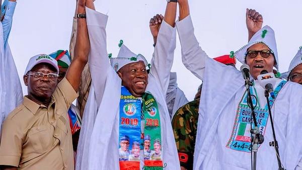 Kano State Governor, Abdullahi Ganduje supports the ...